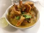 Curryräkor i Cocosmjölk