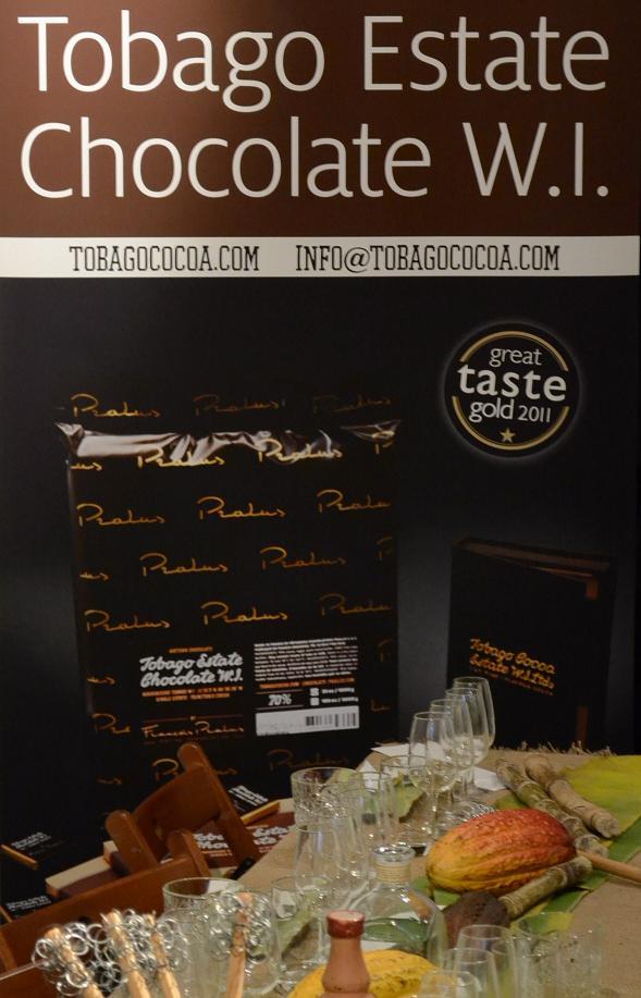 rom och chokladprovning