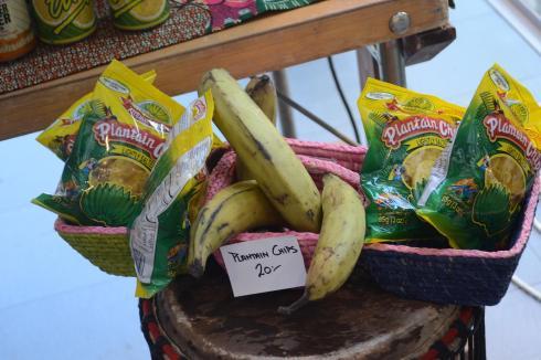 Plantain och plantain chips