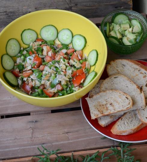 Salt Fish Buljol
