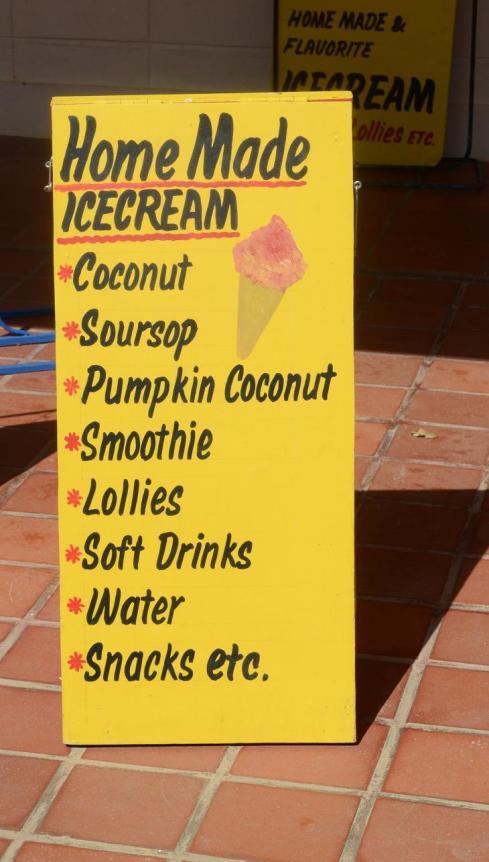 Home made Caribbean Ice Cream