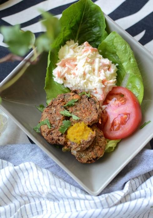 Caribbean Vegetarian Jerk Burgers