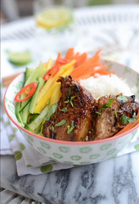 Sticky Asian Ribs